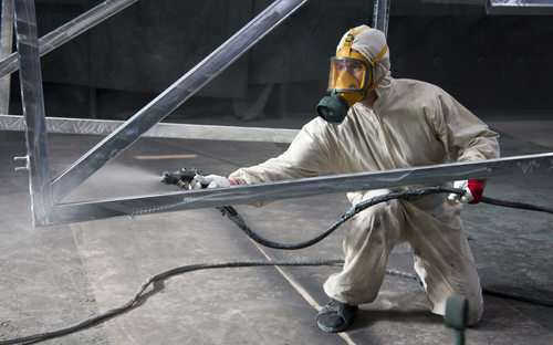 Огнезащитная обработка металлических конструкций